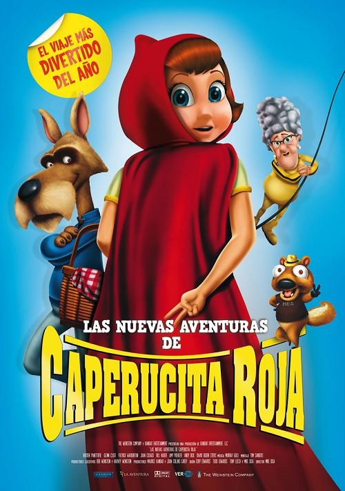 Cinema infantil: Las nuevas aventuras de Caperucita Roja.