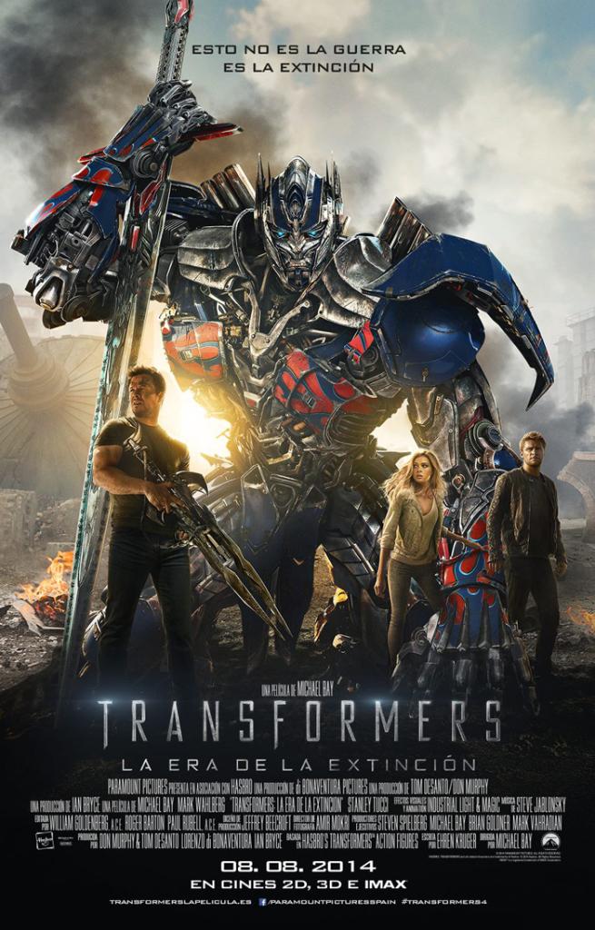 Cinema: Transformers. La era de la extinción.